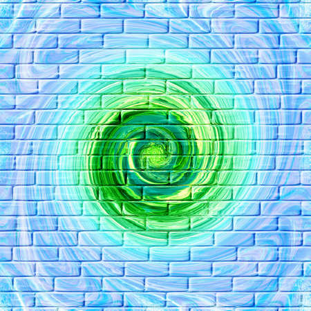 perforation: abstract background with spiral pattern on texture base