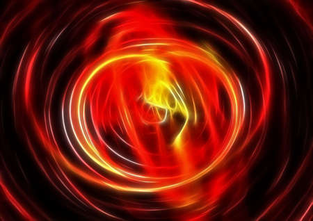 blissfull: abstract scene spiral patterns Stock Photo
