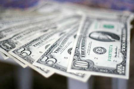 scene with dollar
