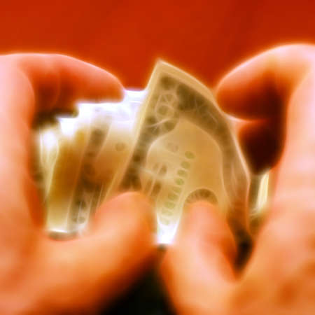 gentile: small money bills for current payment of the services