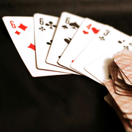 playing combination in poker photo