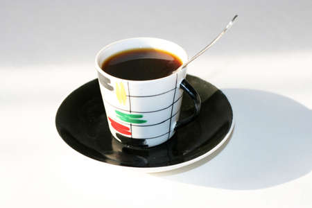 cup matutinal coffee Stock Photo - 3838566