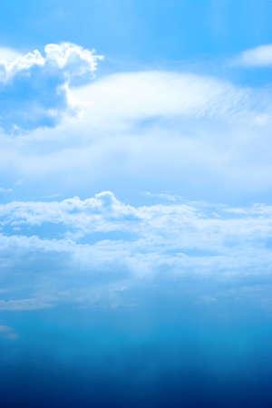 lea: beautiful sky on green landscape