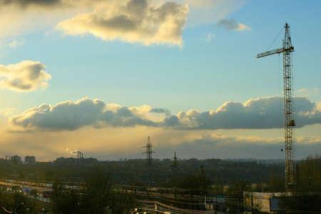 city on background sky Stock Photo - 4025480