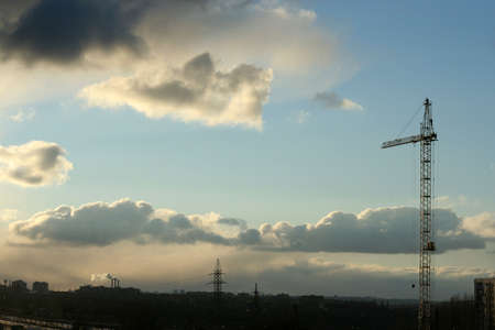 city on background sky Stock Photo - 4025435