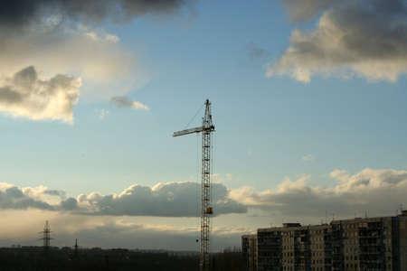 city on background sky Stock Photo - 4025434