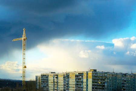 city on background sky Stock Photo - 4024825