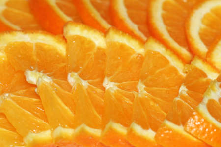 gentile: bit of the ripe orange Stock Photo