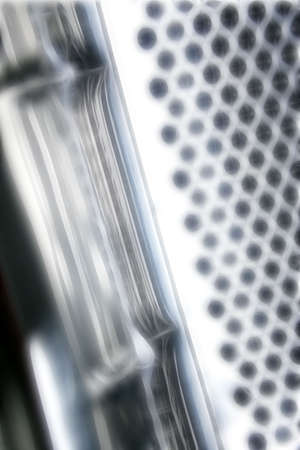 perforation: abstract background Stock Photo