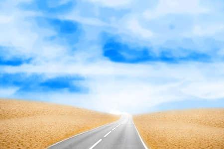 desert under sky photo