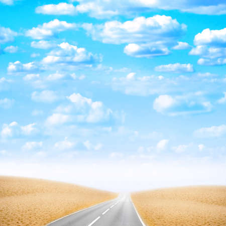 expensive in desert under blue sky Stock Photo - 4284747