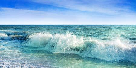 health resort: sea Stock Photo