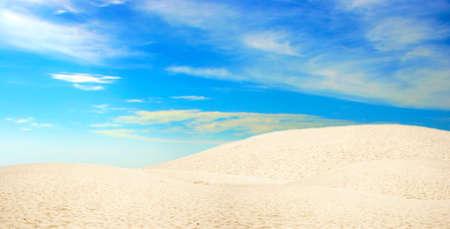 abstract scene with desert Stock Photo - 4399542