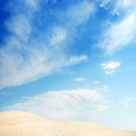 abstract scene with glow desert Stock Photo - 4357762