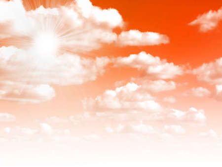 lea: abstract sky Stock Photo