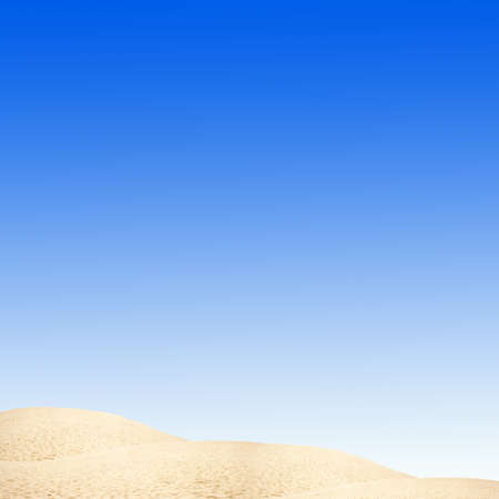 sky and desert Stock Photo - 4395289