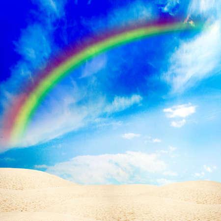 rainbow scene Stock Photo - 4392758