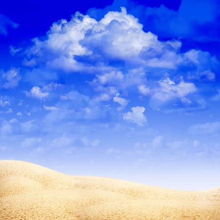 lea: background with sand Stock Photo