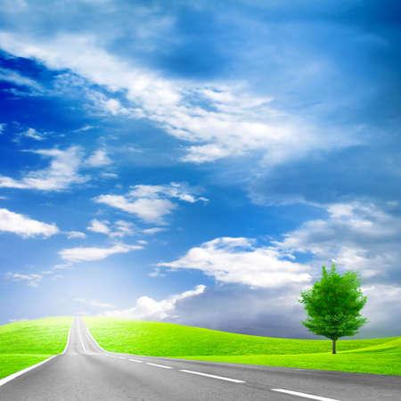 road Фото со стока