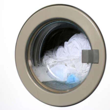 automatic washing machine Archivio Fotografico