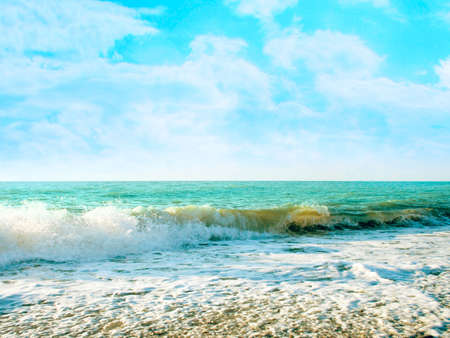 abstract sea beach Stock Photo - 4670193