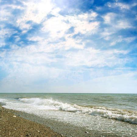 abstract sea beach Archivio Fotografico