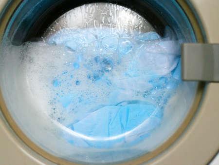 floor machine: lavander�a de ropa en la m�quina autom�tica