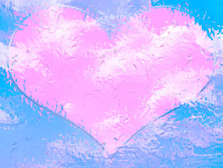 abstract background scene heart for congratulation photo