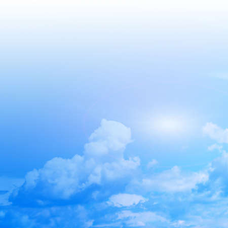displacement: blue sky Stock Photo