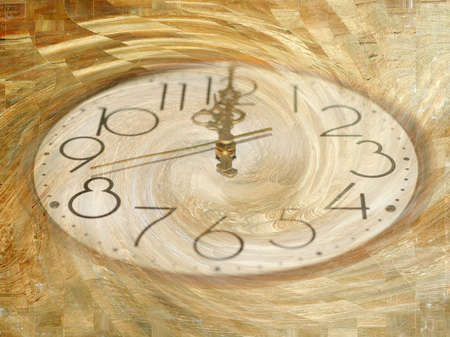 displacement: current of time