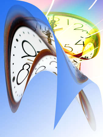 abstract current of time