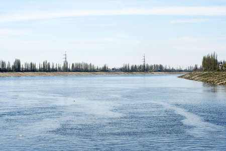 navigable channel Stock Photo