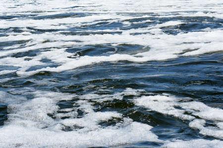 tempestuous flow water photo