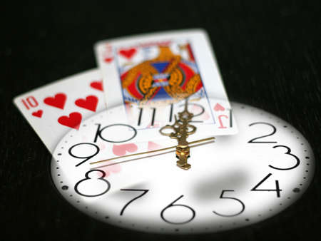 time and poker Editoriali