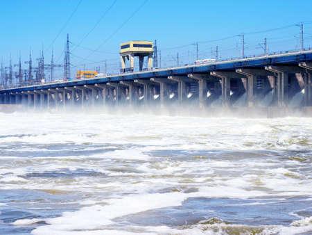 hydroelectric station: stazione idroelettrica Archivio Fotografico