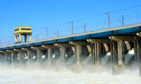 hydroelectric station Stock Photo - 5174107