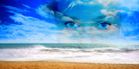 abstract sea photo