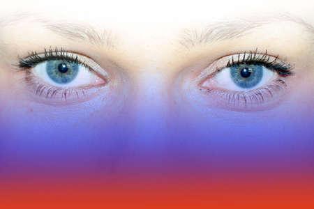 glance: abstract glance Stock Photo