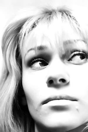 glance: sad glance