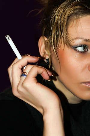 smoked photo