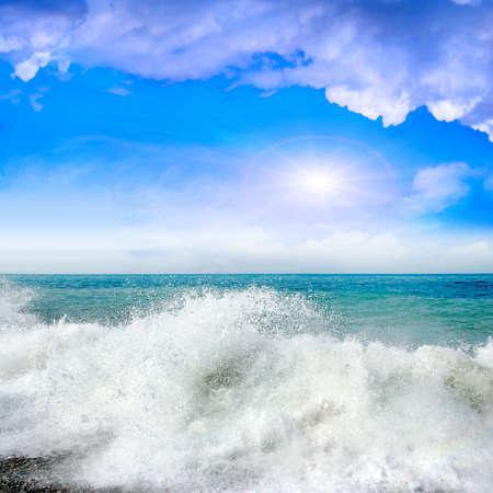 sea waves Archivio Fotografico