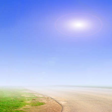 blue sky and road Stock Photo - 6552057