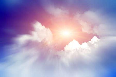 Sonne-Himmel