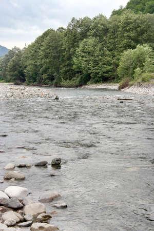 stock vista:  river and stoune