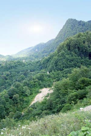 stock vista: mountain  Stock Photo