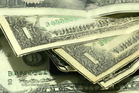 abstract scene with dollars Stock Photo - 10270450