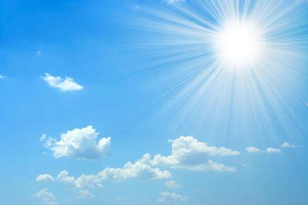 sun and sky Archivio Fotografico