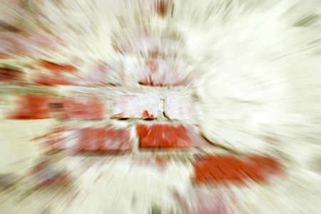 abstract with wall photo