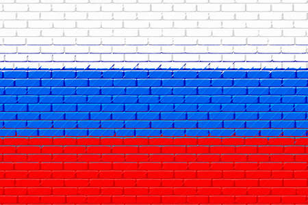 flag of russia photo