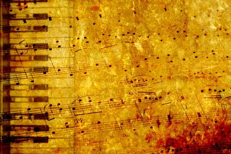 Music Grunge hintergrund Lizenzfreie Bilder